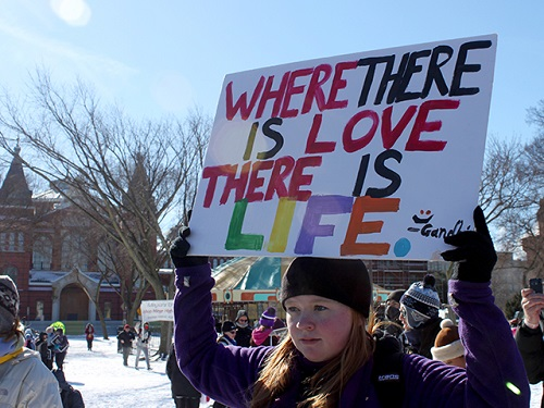 11 Inspiring Signs From The March For Life Lifenews Com