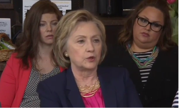 "Hillary Clinton Wants New York State to Legalize Abortions Up to Birth: ""There's No Time to Wait"""
