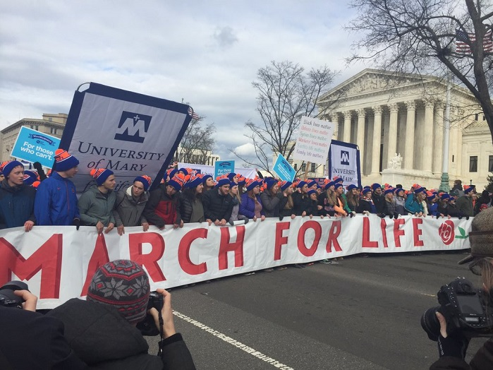 Shutdown Won't Stop March for Life Participants From Standing Against Abortion