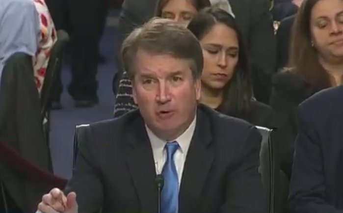 """Brett Kavanaugh Refuses to Say There is a So-Called """"Right"""" to Abortion"""