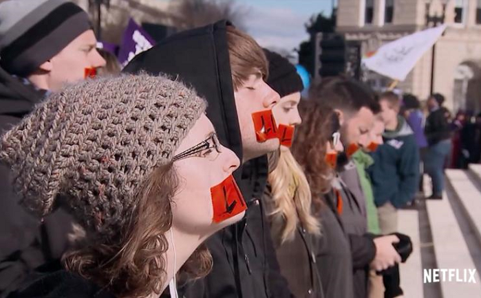 "Netflix's ""Reversing Roe"" Documentary Cut Days of Footage with Pro-Life Women"