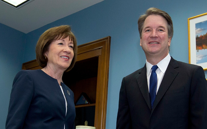 Abortion Activist Threatens to Rape Susan Collins Staffer if She Votes for Brett Kavanaugh