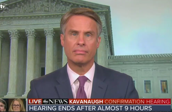 "ABC Reporter Threatens Kavanaugh: Don't Oppose Abortion on SCOTUS or You'll ""Annihilate"" Women"