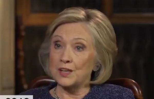 "Hillary Clinton Backs Harassment of Conservatives, Says ""You Can't be Civil With"" Republicans"