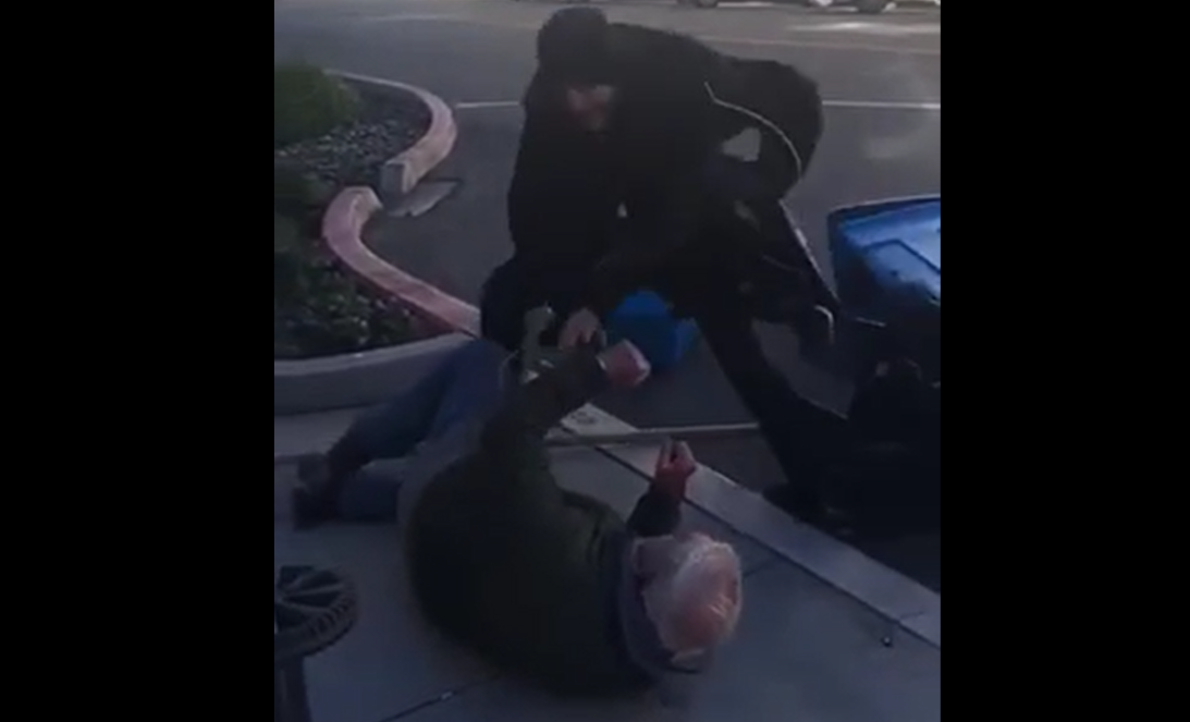 WATCH: Planned Parenthood Supporter Brutally Assaults Elderly Pro-Life Volunteer