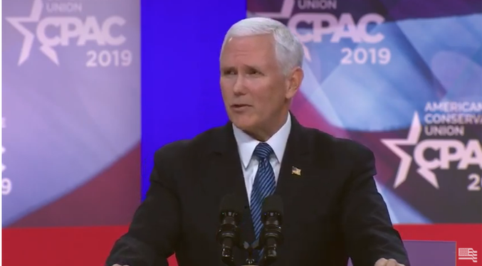 Vice President Mike Pence Slams Democrat Presidential Candidates for Supporting Infanticide