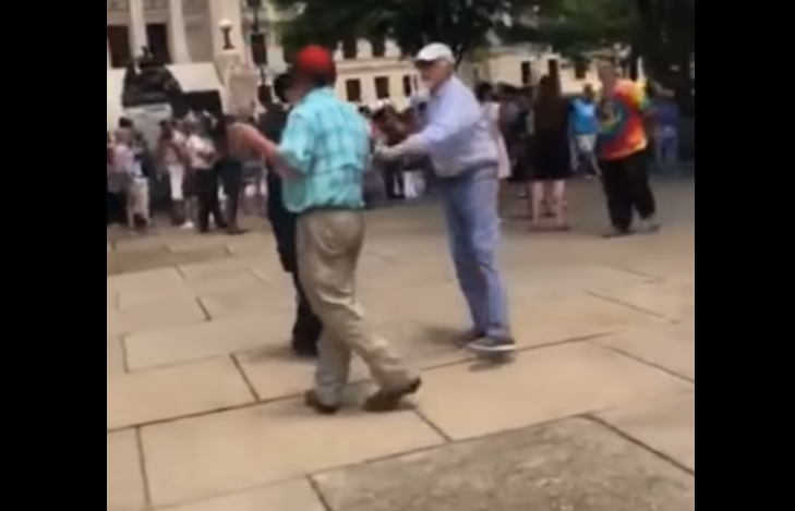 """Abortion Activist Hits Pro-Lifer With Cane After He Says """"Have Mercy on These Babies"""""""