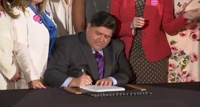Illinois Governor J.B. Pritzker Signs Bill Legalizing Abortions Up to Birth