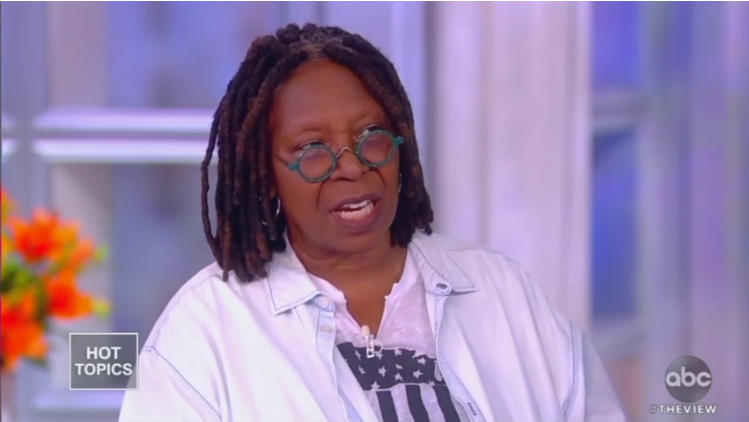 Whoopi Goldberg Claims Pro-Life Christians Don't Oppose Sex Trafficking, Pedophilia