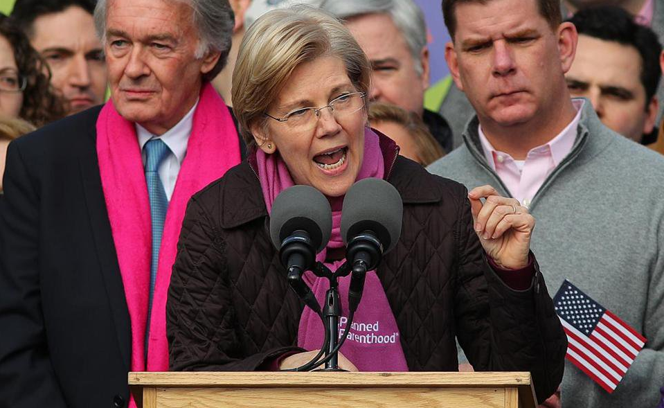 Elizabeth Warren Will Make States Get Federal Govt Permission to Protect Babies From Abortion