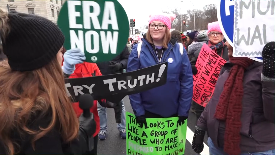 WATCH: The Contrast Between These Angry Feminists and Happy Pro-Lifers is Palpable