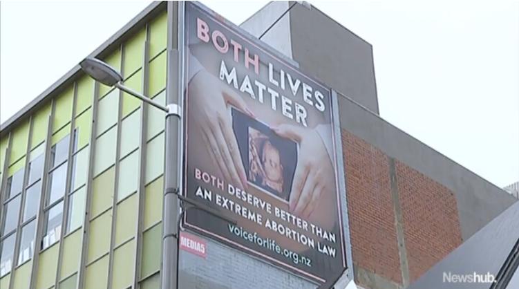 """Black Lives Matter"" Activists Upset at Pro-Life Billboard Saying ""Both Lives Matter"""