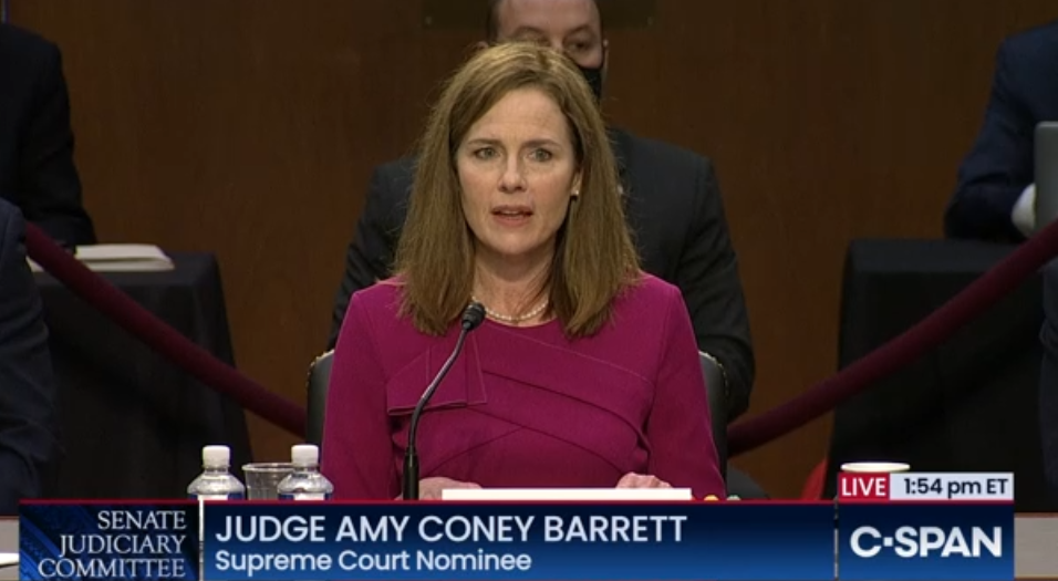 Feminist's Crazy Claim: Amy Coney Barrett Would Support Executing Women Who Have Abortions
