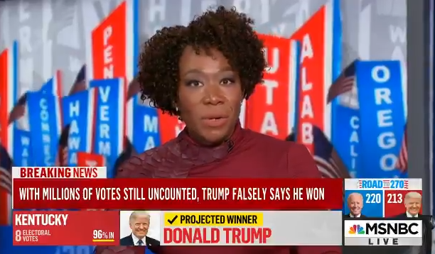 MSNBC Host Joy Reid: Republicans are a Bunch of Racists and White Supremacists